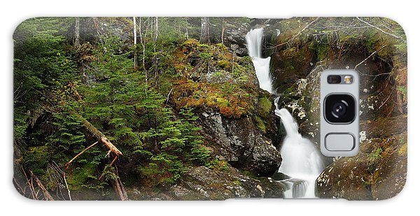 White Mountain National Forest Galaxy Case - Gem Pool And Waterfall by Paul E Tessier