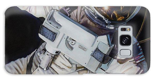 Astronaut Galaxy Case - Gemini Iv- Ed White by Simon Kregar