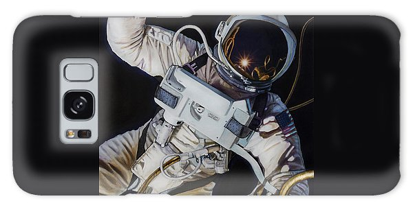 Moon Galaxy Case - Gemini Iv- Ed White by Simon Kregar