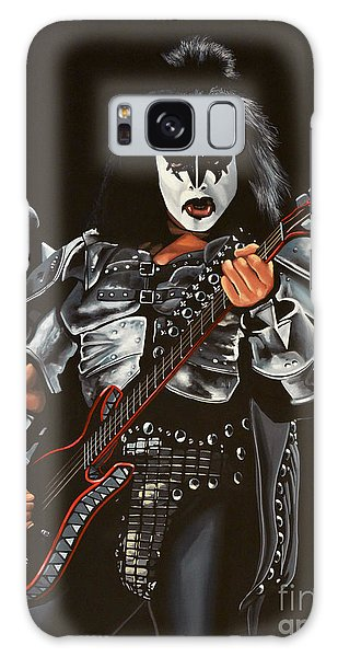Song Galaxy Case - Gene Simmons Of Kiss by Paul Meijering