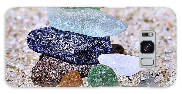 Genuine Sea Glass Galaxy Case