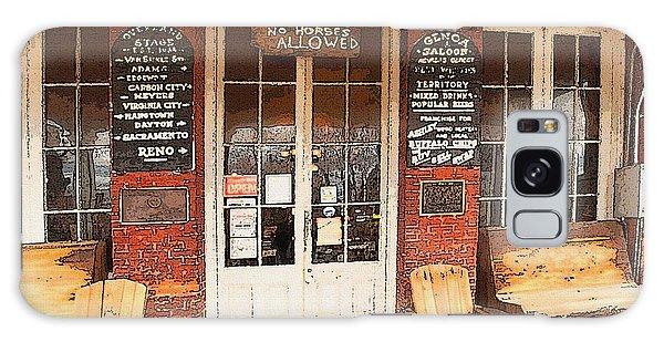 Genoa Saloon Oldest Saloon In Nevada Galaxy Case