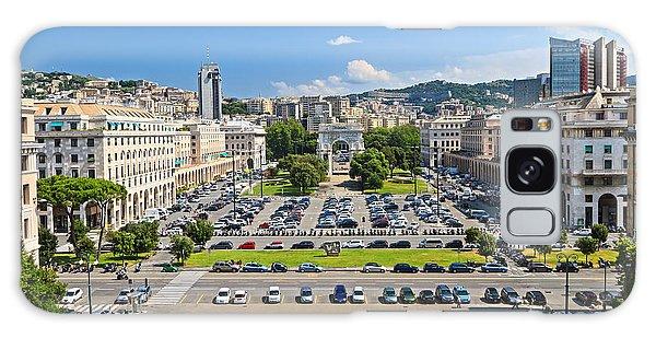 Genova - Piazza Della Vittoria Overview Galaxy Case