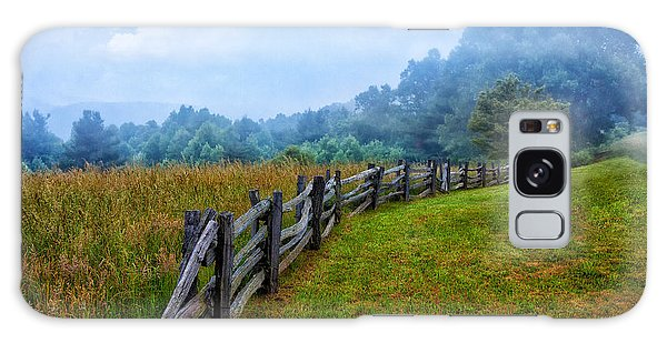 Gentle Morning - Blue Ridge Parkway I Galaxy Case