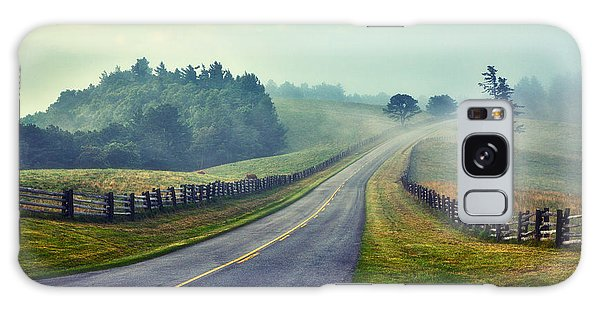 Gentle Morning - Blue Ridge Parkway II Galaxy Case