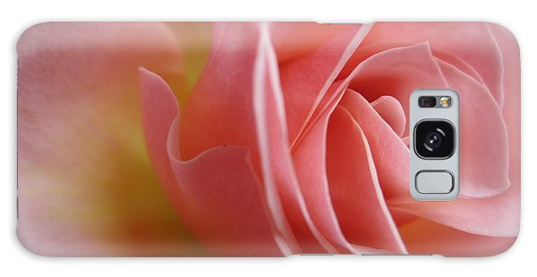Gentle Pink Rose Galaxy Case
