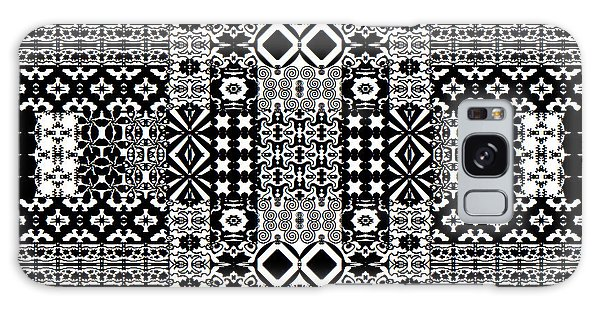 Geometric Abstract In Mono Galaxy Case