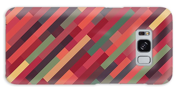 Geometric Block Galaxy Case by Mike Taylor