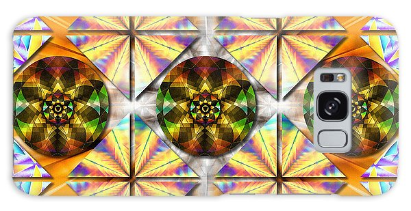 Geometric Dreamland Galaxy Case