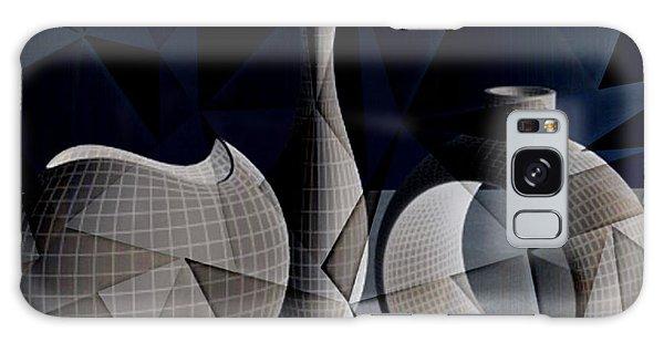 Geometric Vases Galaxy Case