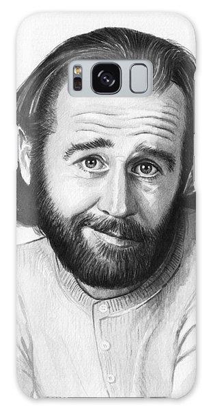 Celebrity Galaxy Case - George Carlin Portrait by Olga Shvartsur