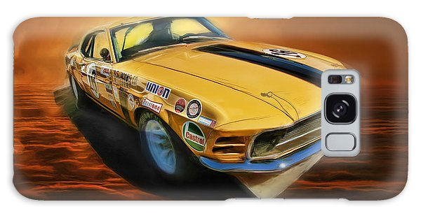 George Follmer 1970 Boss 302 Ford Mustang Galaxy Case