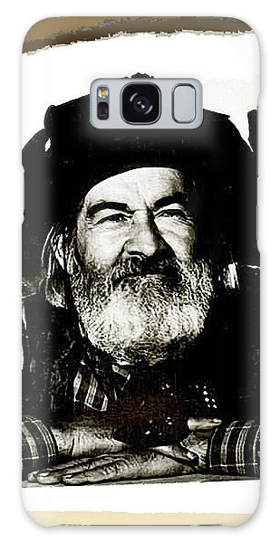 George Hayes Portrait #1 Card Galaxy Case by David Lee Guss