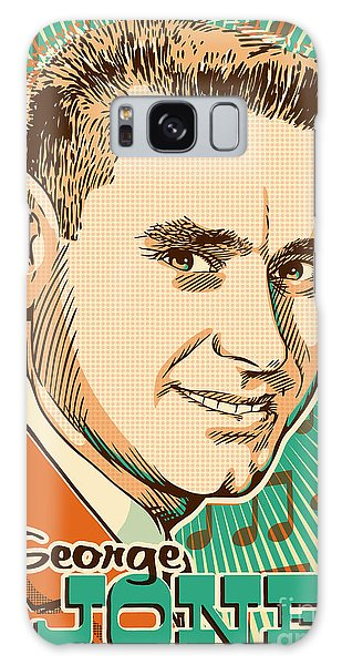 George Jones Pop Art Galaxy Case