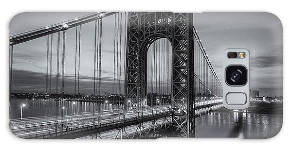 George Washington Bridge Morning Twilight II Galaxy Case