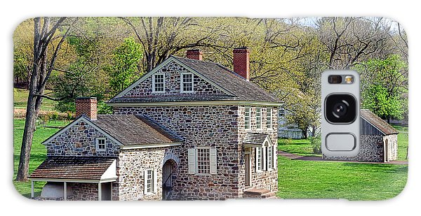 George Washington Headquarters At Valley Forge Galaxy Case