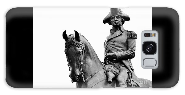 George Washington Statue Boston Ma Galaxy Case