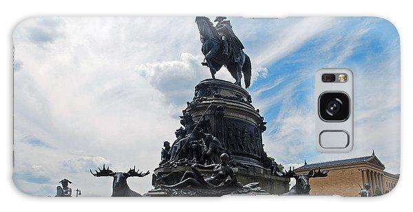 George Washington Statue Galaxy Case