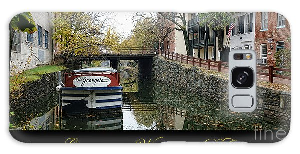 Washington D.c Galaxy Case - Georgetown Canal Poster by Olivier Le Queinec