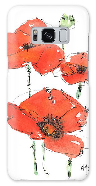 Georgetown Texas The Red Poppy Capital Galaxy Case