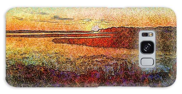 Georgian Bay Sunset Galaxy Case
