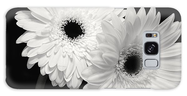 Gerbera Daisy Sisters Galaxy Case by Jeannie Rhode