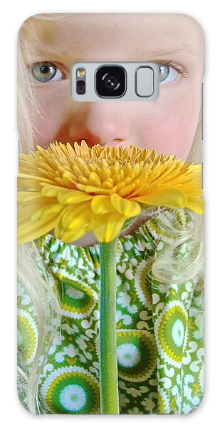 Gerbera Girl Galaxy Case