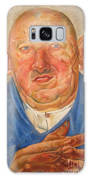 Russian Impressionism Galaxy Case - German Butcher  by Celestial Images