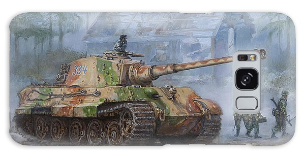 Assault Galaxy Case - German King Tiger Tank In The Battle Of The Bulge by Philip Arena
