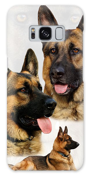 German Shepherd Collage Galaxy Case