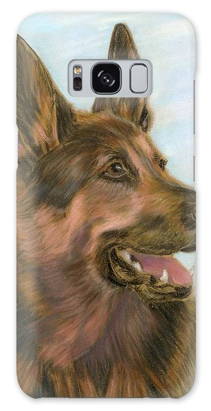 German Shepherd Dog 2 Galaxy Case by Ruth Seal