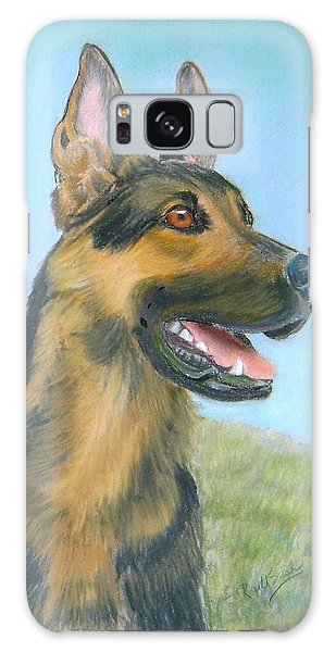German Shepherd Dog Galaxy Case by Ruth Seal