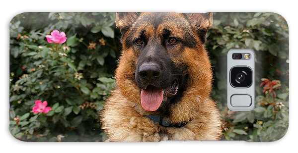 German Shepherd Dog Galaxy Case