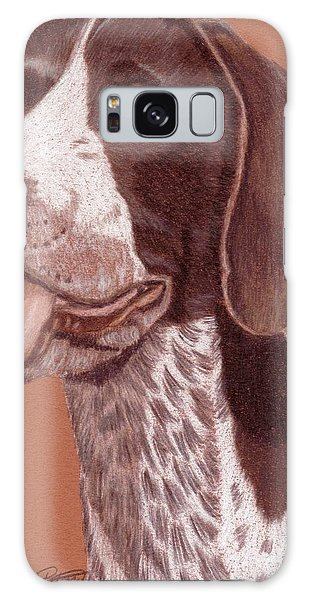 German Shorthair Pointer Vignette Galaxy Case by Anita Putman