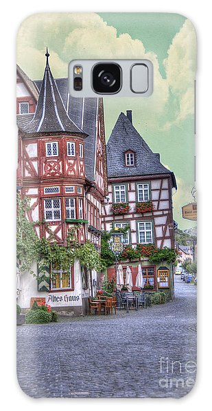 German Village Along Rhine River Galaxy Case