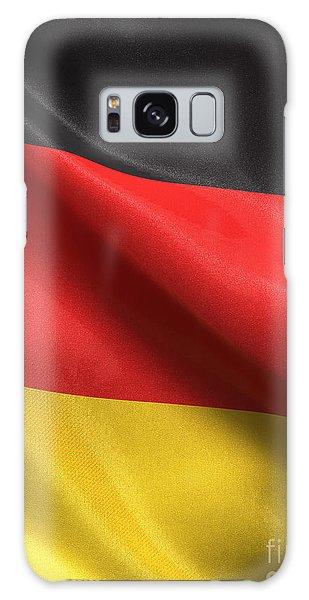 Germany Flag Galaxy Case by Carsten Reisinger