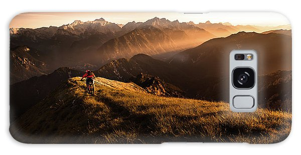 Outdoors Galaxy Case - Get Out And Explore by Sandi Bertoncelj