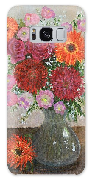 Get Well Flowers Galaxy Case