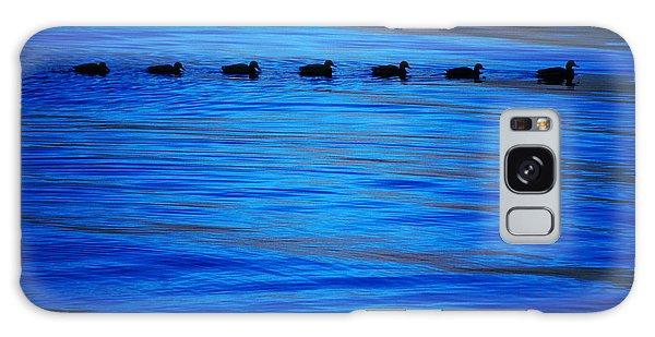 Getting Your Ducks In A Row Galaxy Case by Cynthia Lagoudakis
