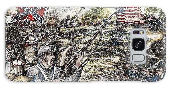Gettysburg Ash's At The Angle Galaxy Case by Scott and Dixie Wiley
