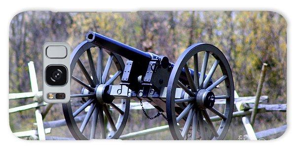 Gettysburg Battlefield Cannon Galaxy Case by Patti Whitten