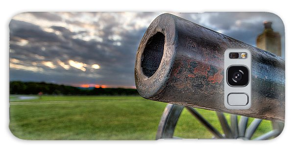 Gettysburg Canon Closeup Galaxy Case by Andres Leon