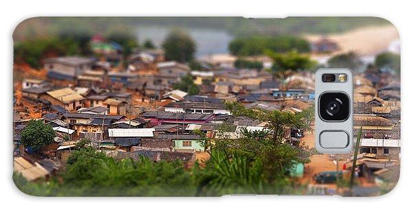 West Galaxy Case - Ghanaian Village by Samuel Whitton