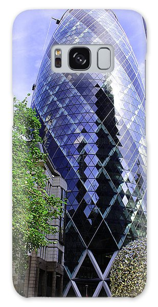 Gherkin 30 St Mary Axe Galaxy Case by Nicky Jameson