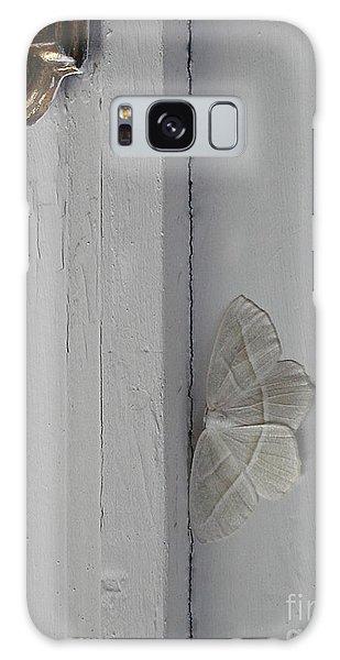 Ghost Doorbell Moth Galaxy Case