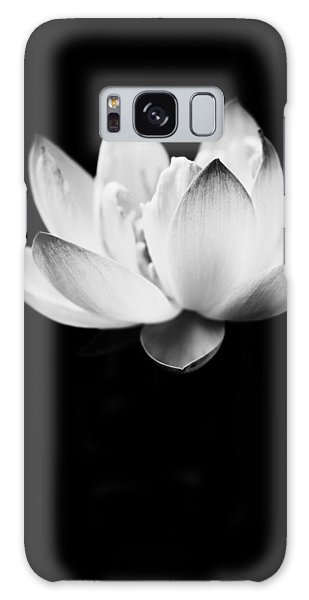 Galaxy Case featuring the photograph Ghost Lotus by Priya Ghose