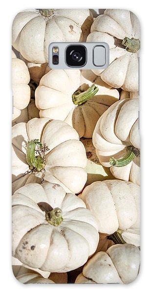 Ghost Pumpkins Galaxy Case by Dawn Romine
