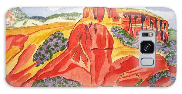 Ghost Ranch New Mexico Galaxy Case