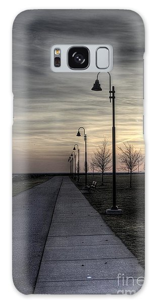 Ghostly Walkway Galaxy Case by Jim Lepard