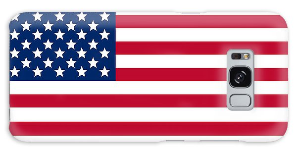 Patriotic Galaxy Case - Giant American Flag by Ron Hedges
